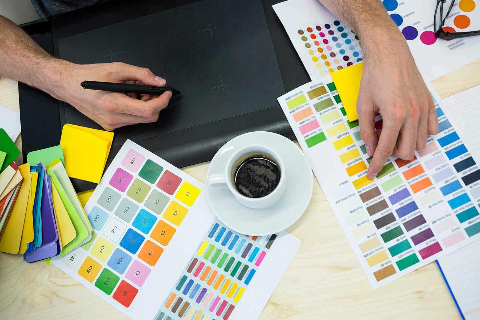 Как да изберете правилната цветова схема за вашия уеб сайт