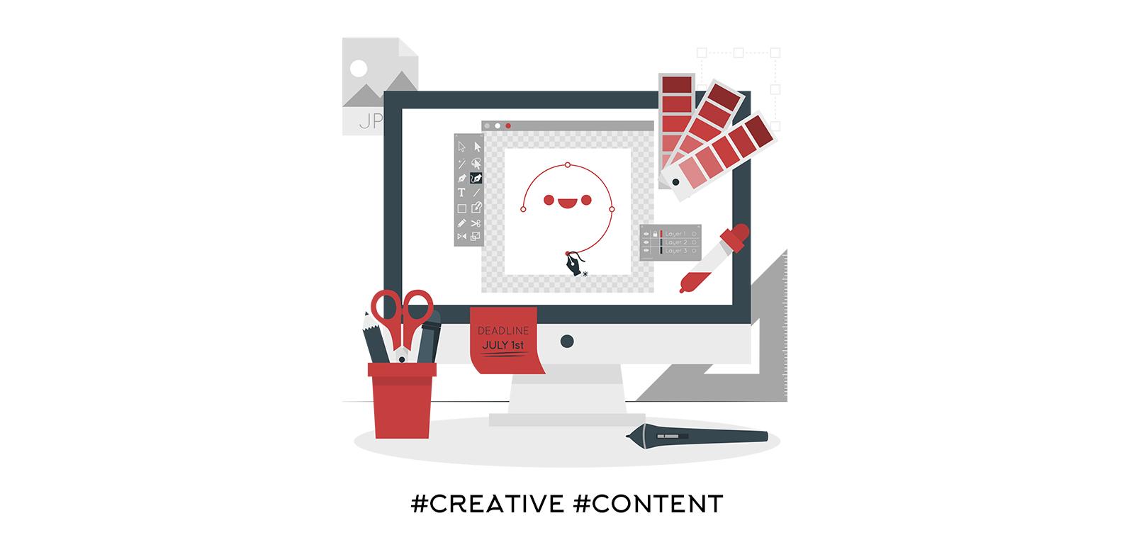Създаване на творческо съдържание