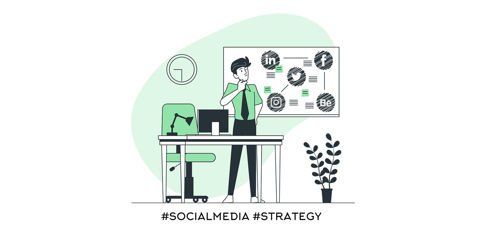 Изградете ясна маркетингова стратегия за социалните медии