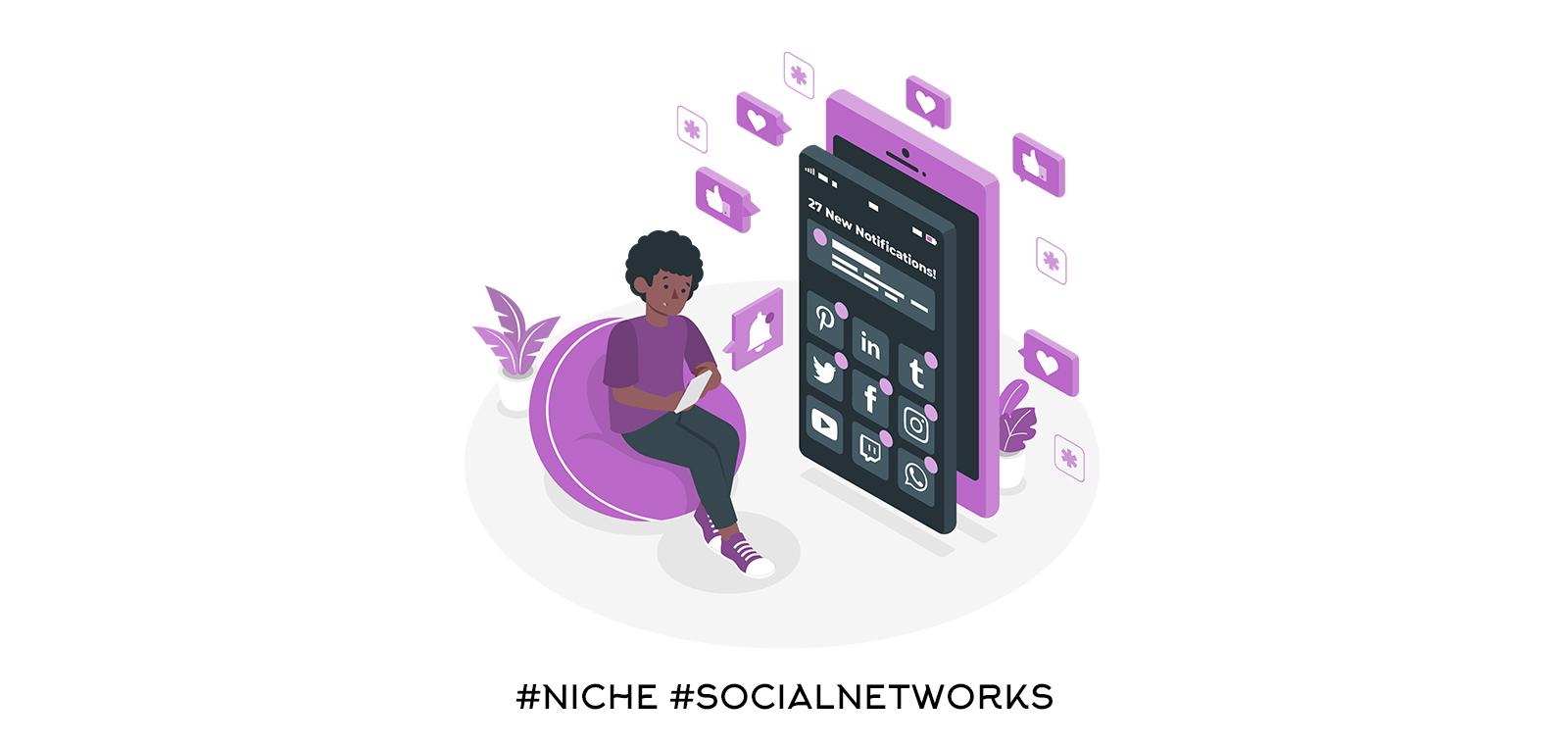 Алтернативни и нишови социални мрежи