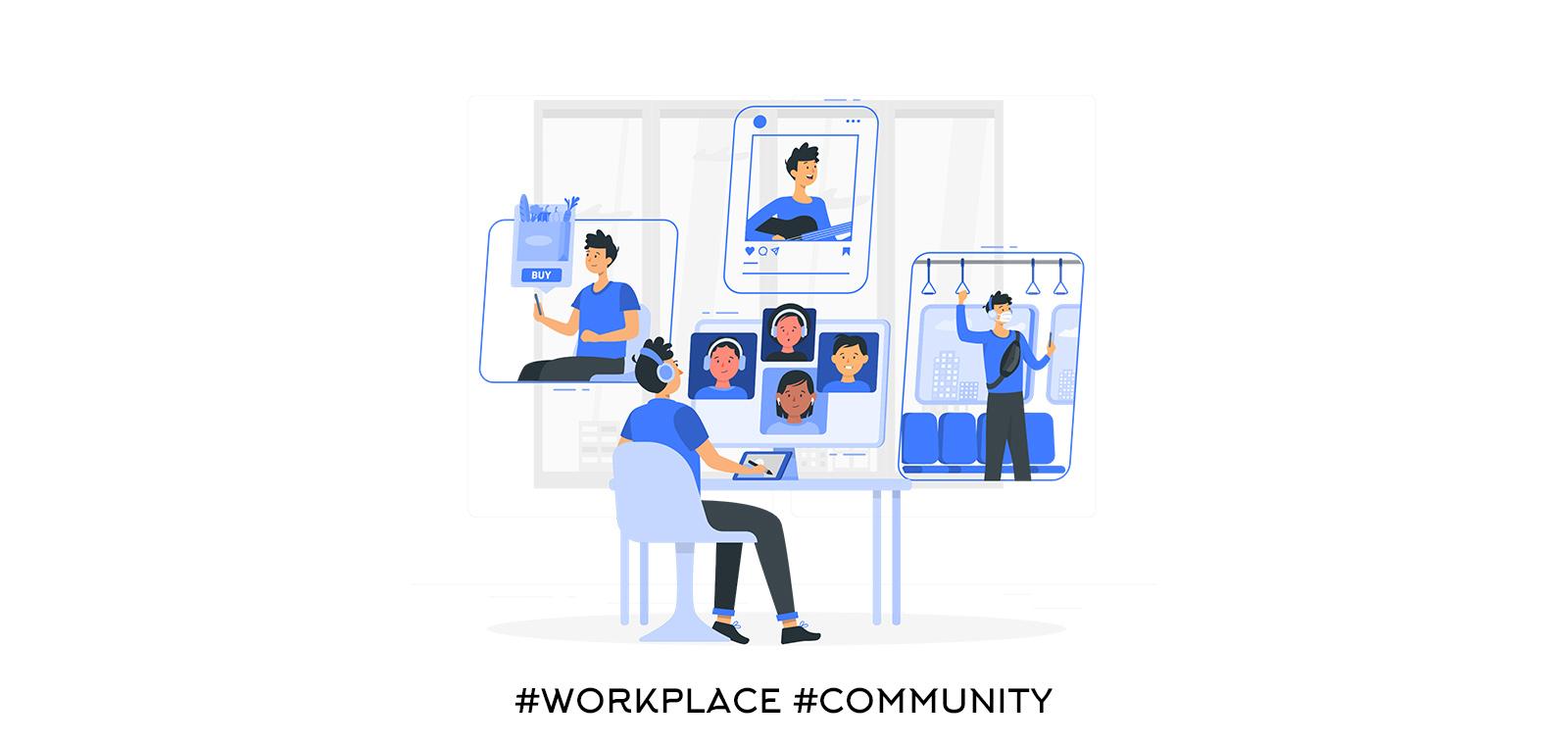 Създайте общност с вашите колеги